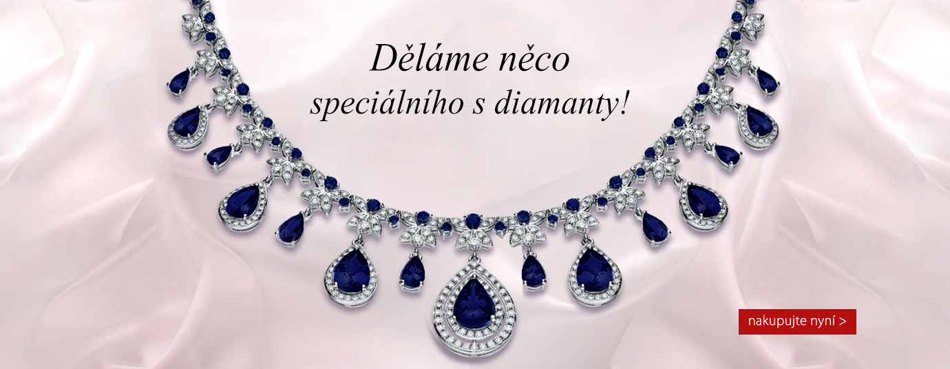 safírový náhrdelník ea977b6283