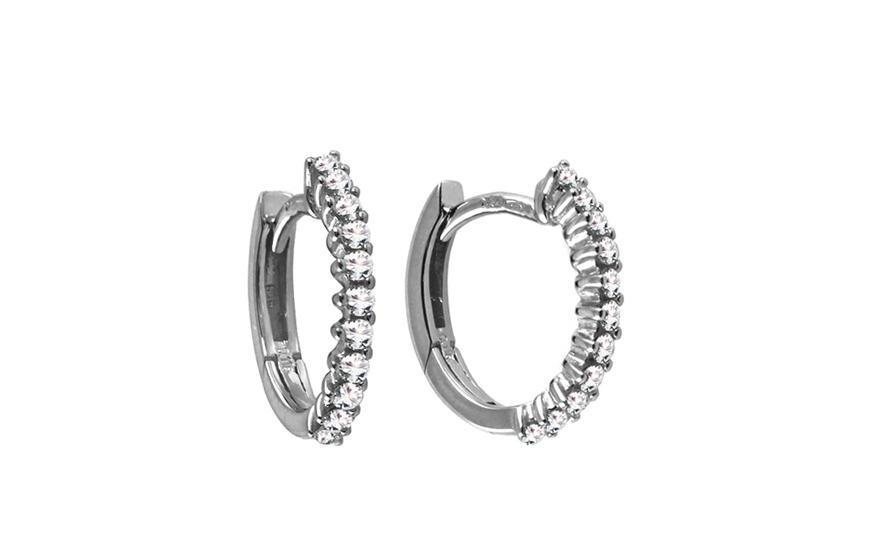 Diamantové náušnice 0,250 ct Deluxe Stone DB0017A