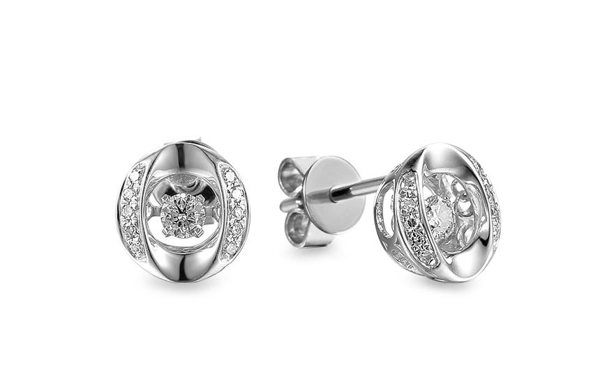 Diamantové náušnice z bílého zlata 0 5f752c4025d