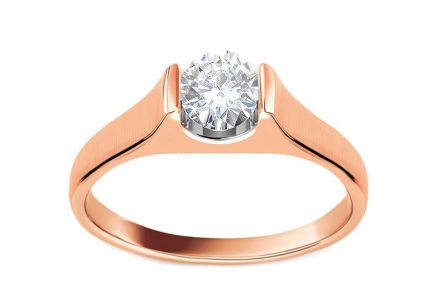 9477a515d Zásnubní prsten s 0,250 ct diamantem Magic Forever pink ...