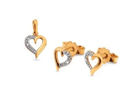 Zlatá souprava s diamanty 0 cc9dc1b9934