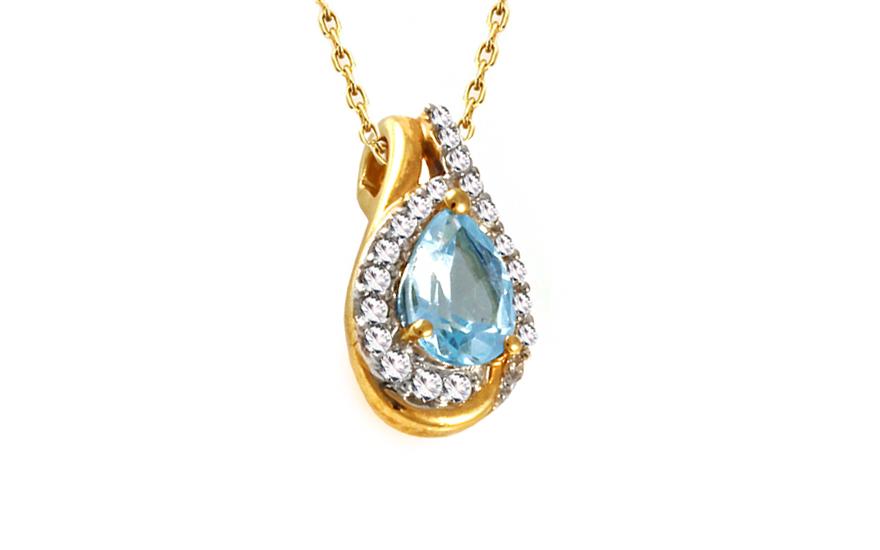 Diamantový přívěsek 0,100 ct Elois KU285P