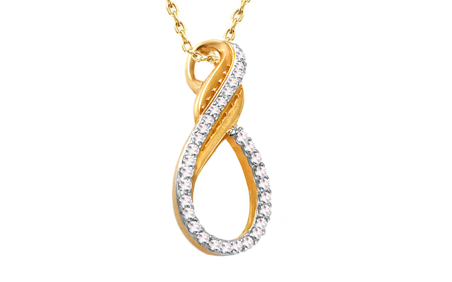 Diamantový přívěšek 0,120 ct Betias KU305P