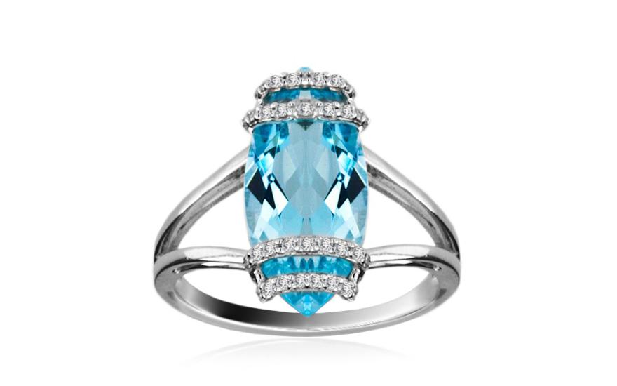 Diamantový prsten Tamiss KU189PN