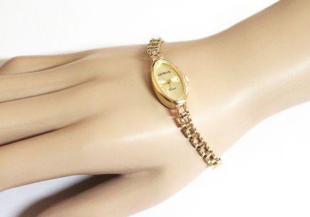 Zlaté dámské hodinky Geneve Zlaté dámské hodinky Geneve d8e08061d22