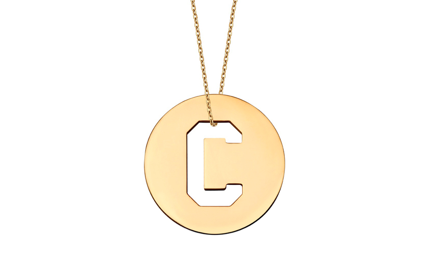 Iniciála - zlatý přívěsek písmeno C IZ10999