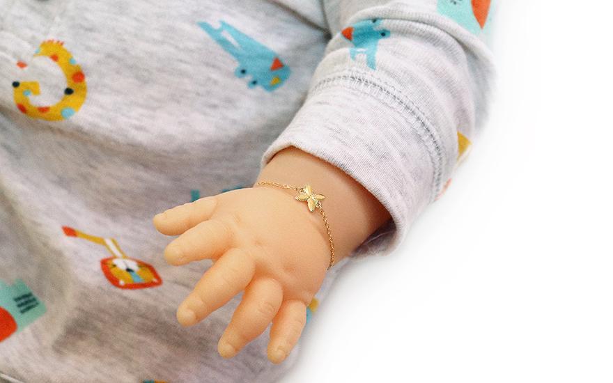 9101f7039 Náramek, pro děti (IZ19276) | iZlato24.cz