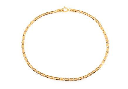 8bed1e376 Elegantní zlatý náramek Valentino 2,1 mm ...