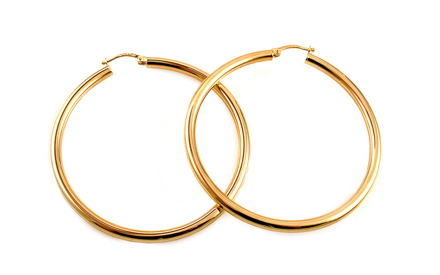 Náušnice dámské kruhy 4,7 cm IZ4244