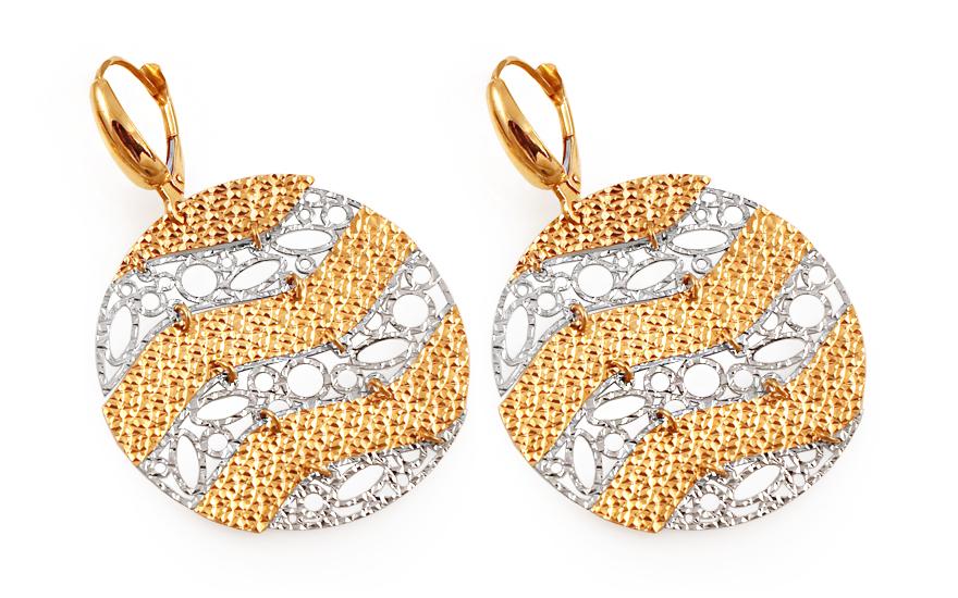 Zlaté dámské náušnice Sanni IZ3081