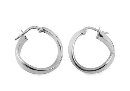c82ecdc7e Stříbrné náušnice kroužky Stříbrné náušnice kroužky