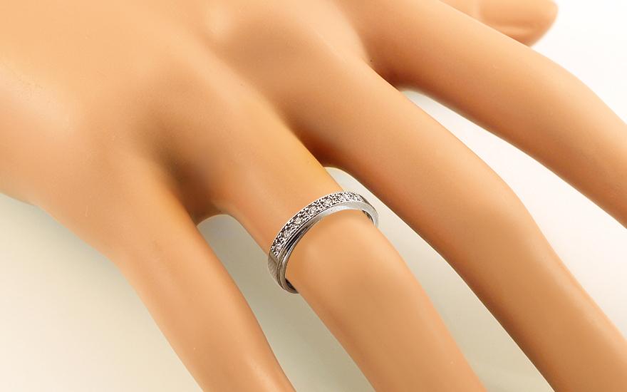 Prsten s diamanty Icon love white 0.150 ct CSBR21A