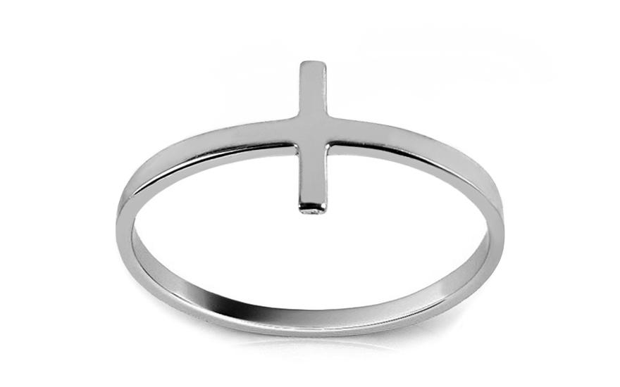 Prsten z bílého zlata Kirchia IZ12565A