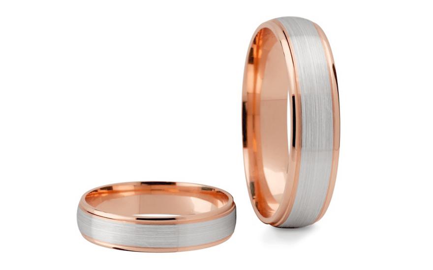 Snubní prstýnky bez kamenů šířka 4 mm STOB089-4R