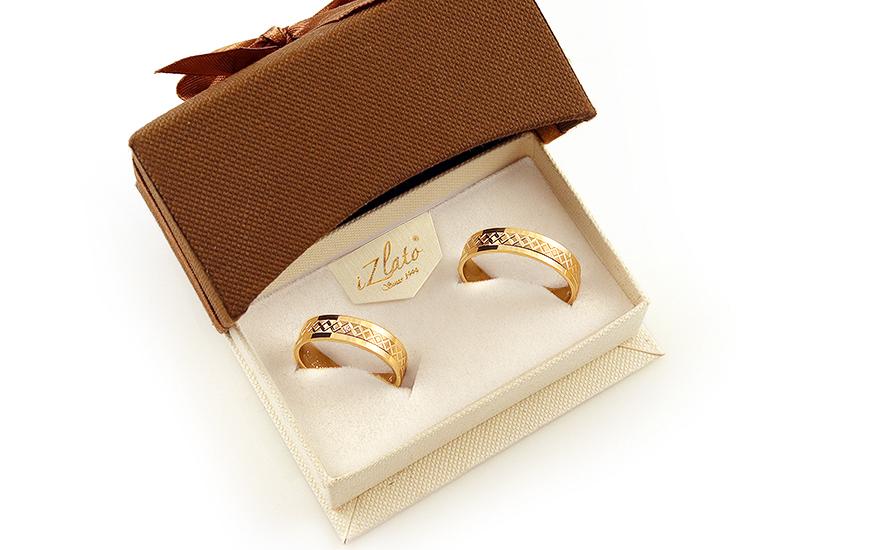 Snubní prstýnky s diamantem 0,010 ct šířka 5 mm STOBR228Y