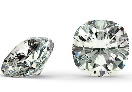 VS2 L 0.91 ct diamant certifikát GIA brus Cushion - IZDI2419