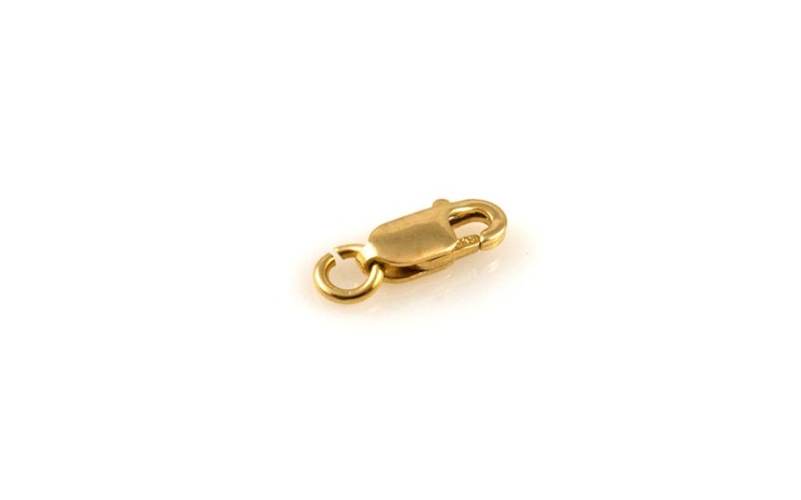 Zapínání karabinka ze žlutého zlata IZ8794