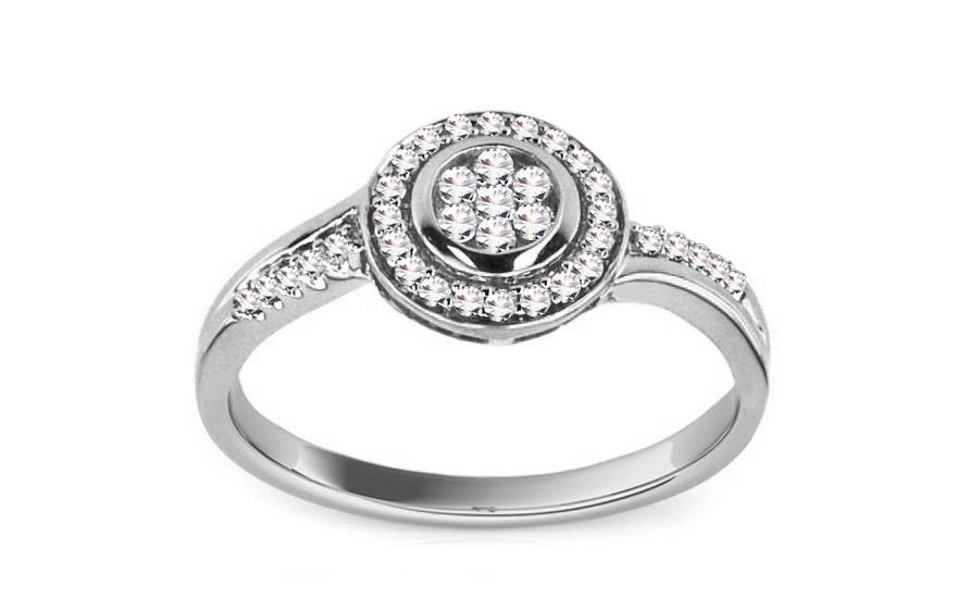 Zásnubní prsten Ardiente 0,230 ct KU134A