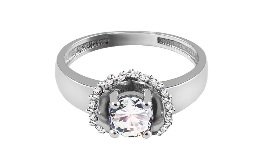 Zlatý zásnubní prsten Isar 27 CSRI715A