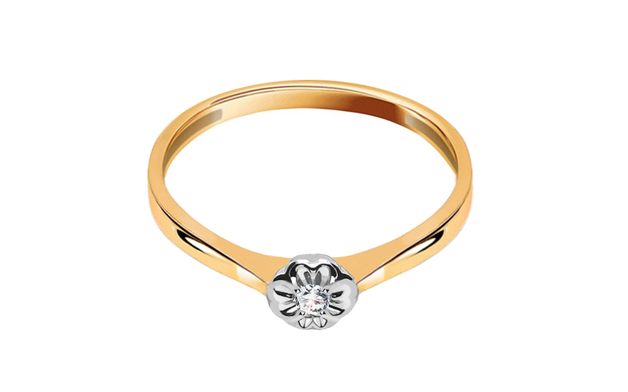 Zásnubní prsten Lyanna 0,030 ct KU131