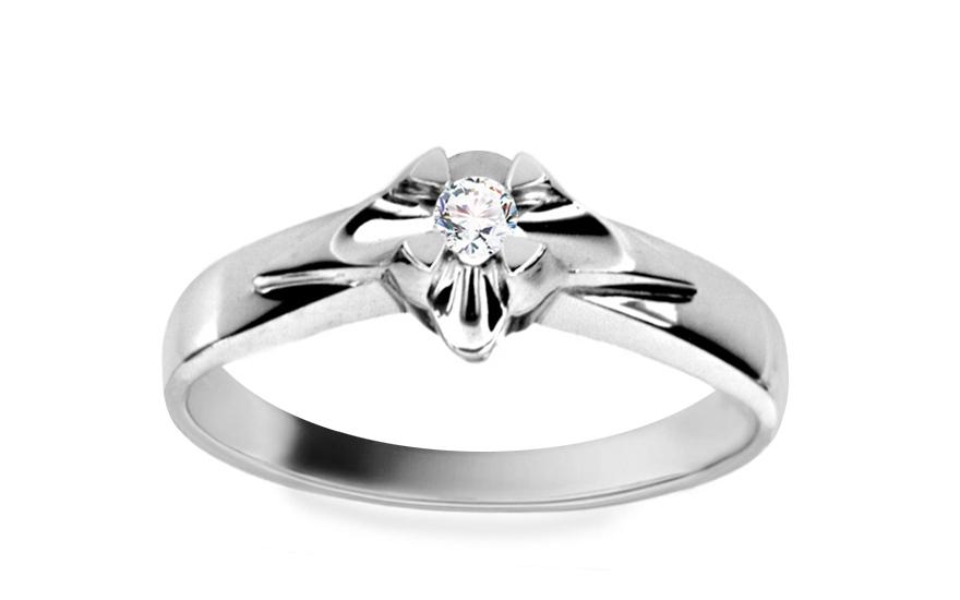 Zásnubní prsten Magic 7 white CSRI1560A