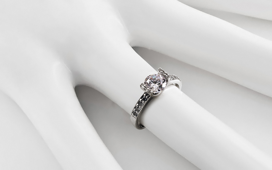Zásnubní prsten Magnificence Swarovski CSRI791A