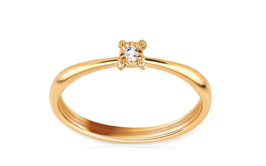Zásnubní prsten s 0,005 ct briliantem Jasmin IZ6803Y