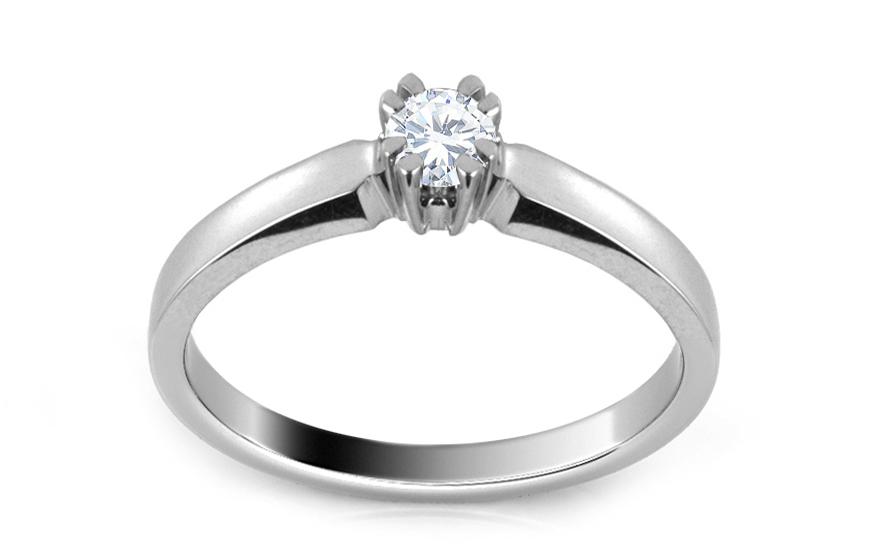 Zásnubní prsten s diamantem 0,130 ct Scree ARBR30
