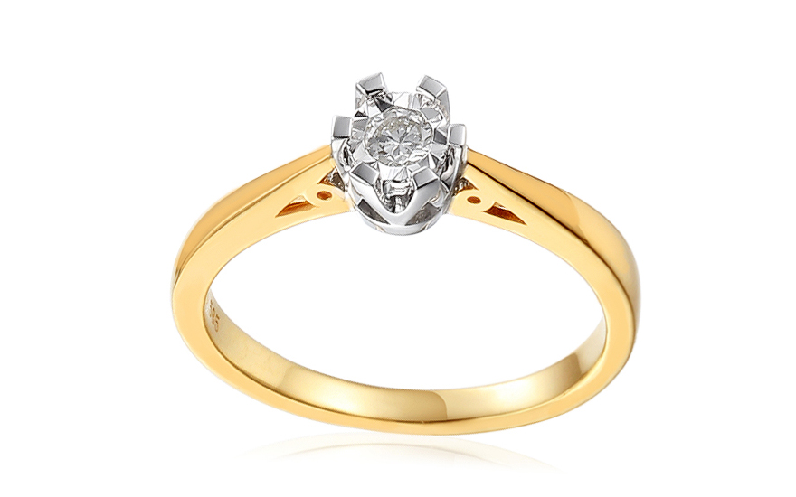 Zásnubní prsten s diamantem Adalie IZBR107P