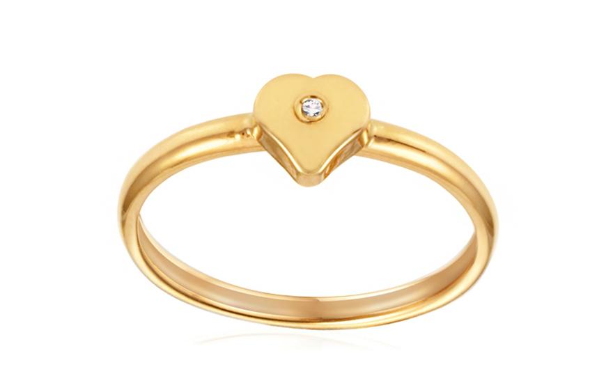 Zásnubní prsten s diamantem Jasmina yellow IZ6804Y