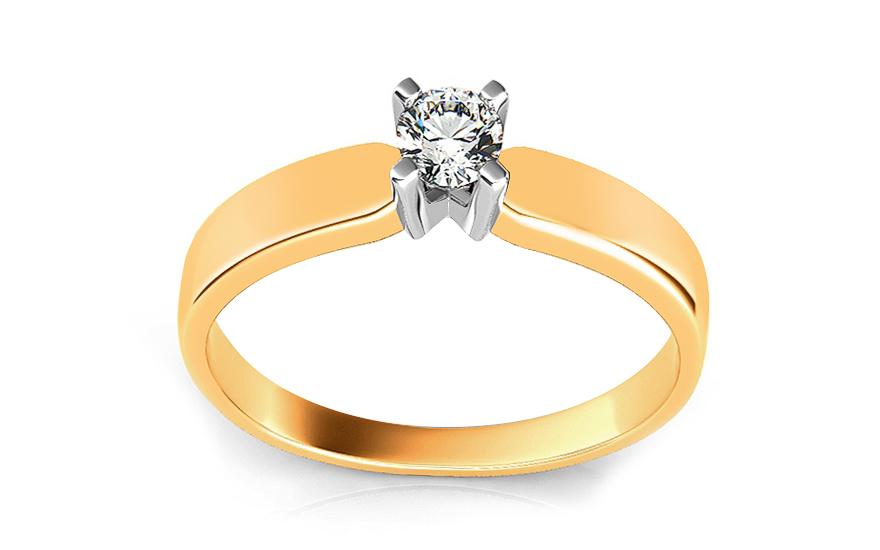 Zásnubní prsten s diamantem Promise 2 ARBR02Y
