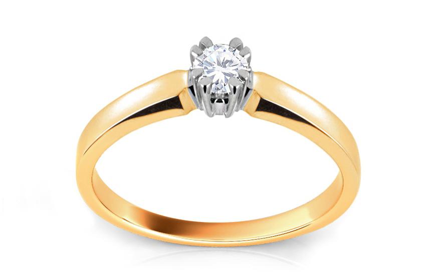 Zásnubní prsten s diamantem Scree ARBR30Y