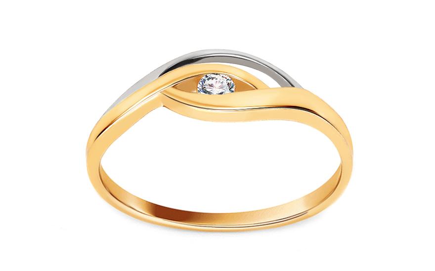 Zásnubní prsten s 0,054 ct diamantem Sophie CSBR31