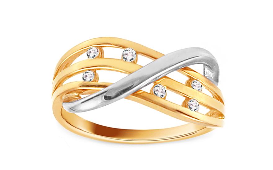 Zlatý prsten Ines 2 CSRI842
