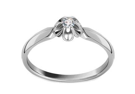 Zlate Zasnubni Prsteny S Diamantem Pro Zeny Izlato24 Cz