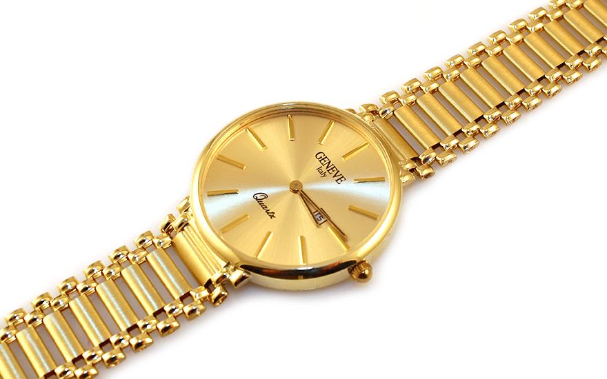 Zlaté dámské hodinky Geneve IZ9310