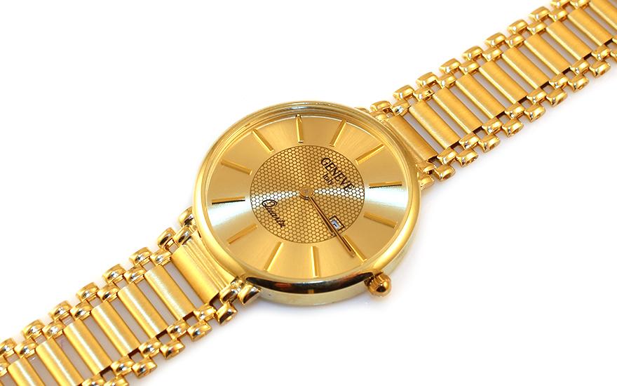 Zlaté dámské hodinky Geneve IZ9311
