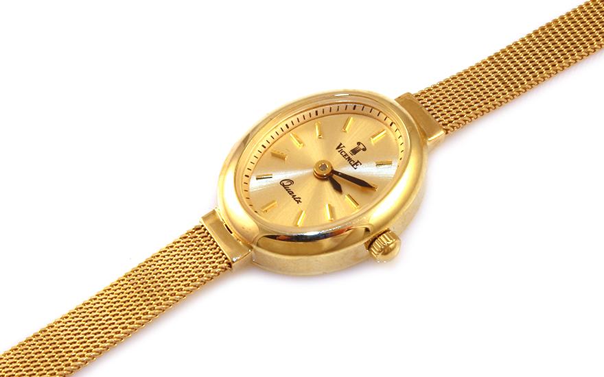 Zlaté dámské hodinky Geneve IZ9312