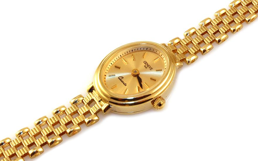 Zlaté dámské hodinky Geneve IZ9313