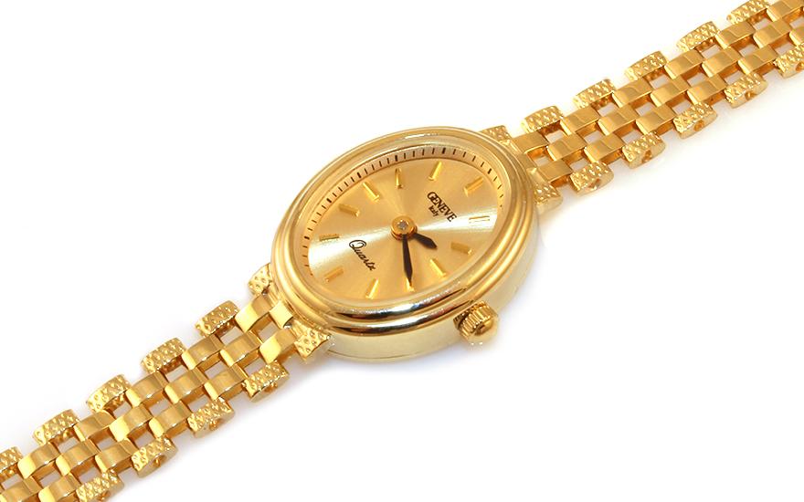 Zlaté dámské hodinky Geneve IZ9344