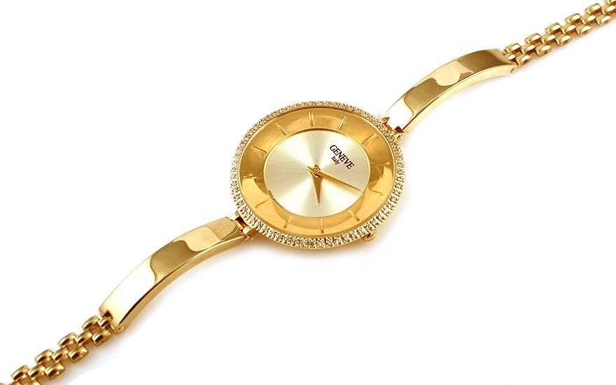 Zlaté dámské hodinky Geneve IZ9944