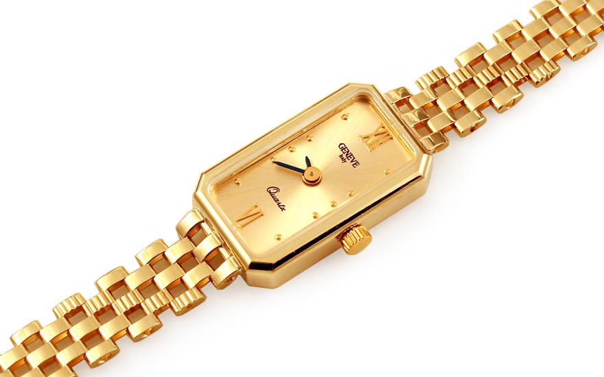 Zlaté dámské hodinky Geneve IZ11466