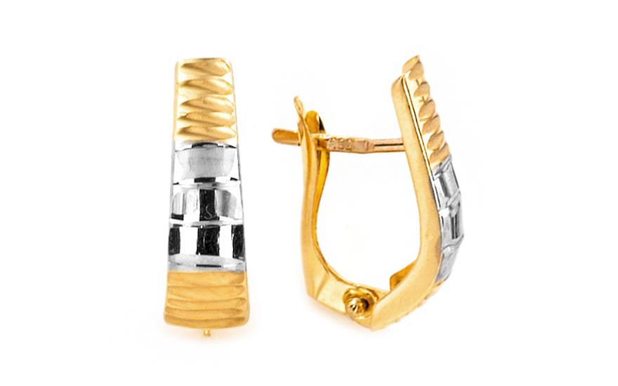 Zlaté dámské náušnice Melánie IZ7021