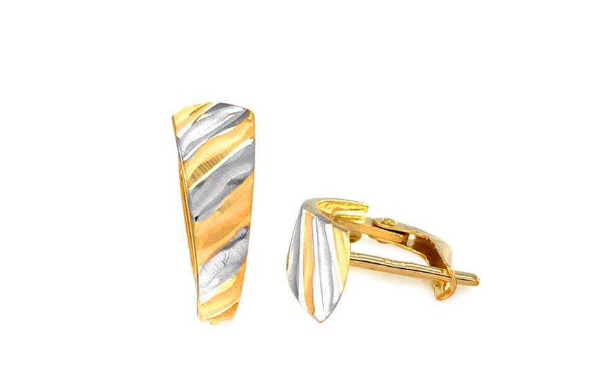 Zlaté dámské náušnice Nelisie IZ8555