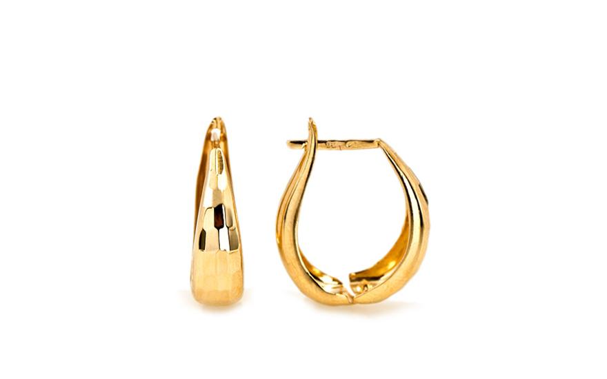 Zlaté dámské náušnice Zita IZ7362
