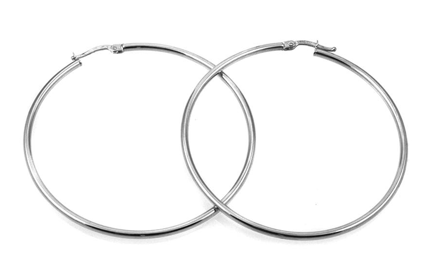 Zlaté náušnice kruhy 5,3 cm IZ9756