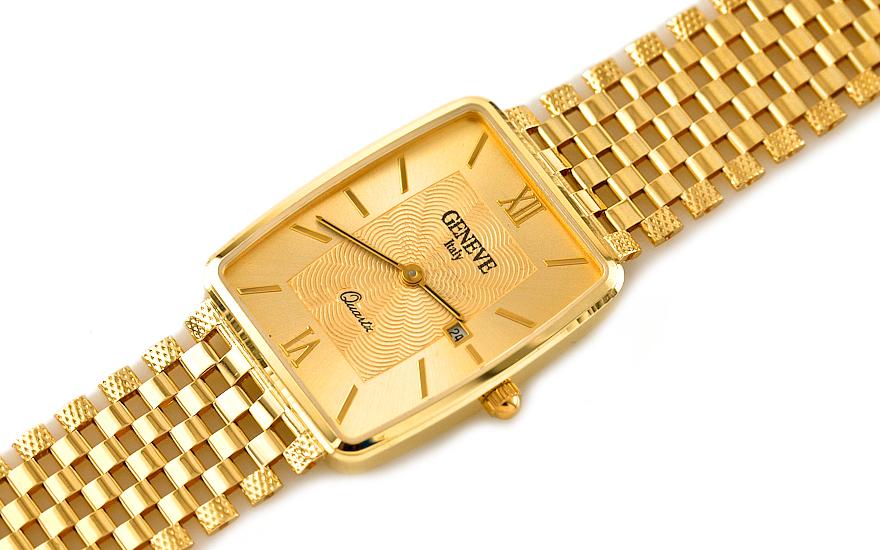 Zlaté pánské hodinky Gold watch IZ7737