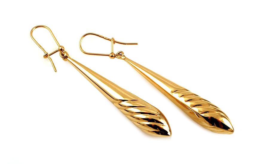 Zlaté visací náušnice Gracell IZ11909