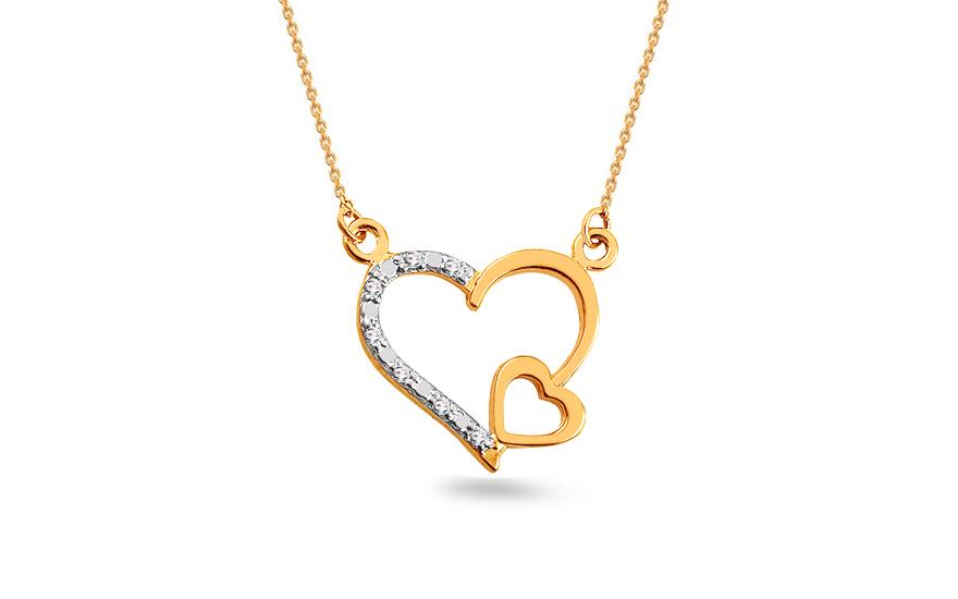 c10932dbc26 Zlatý briliantový náhrdelník 0