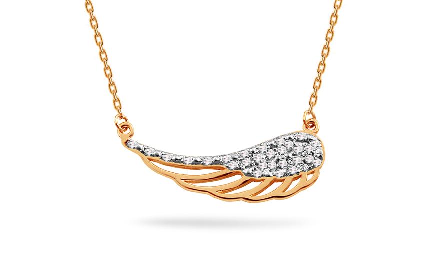 Zlatý briliantový náhrdelník 0 a145cf3749